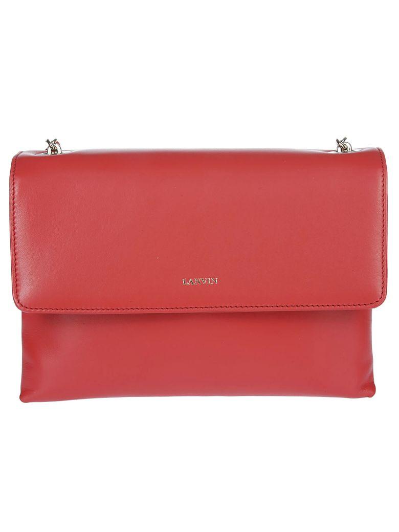 Lanvin Small Sugar Shoulder Bag - Red