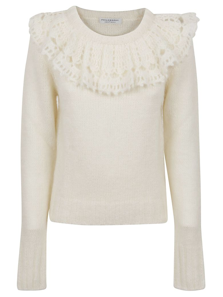Philosophy di Lorenzo Serafini Sweater - White