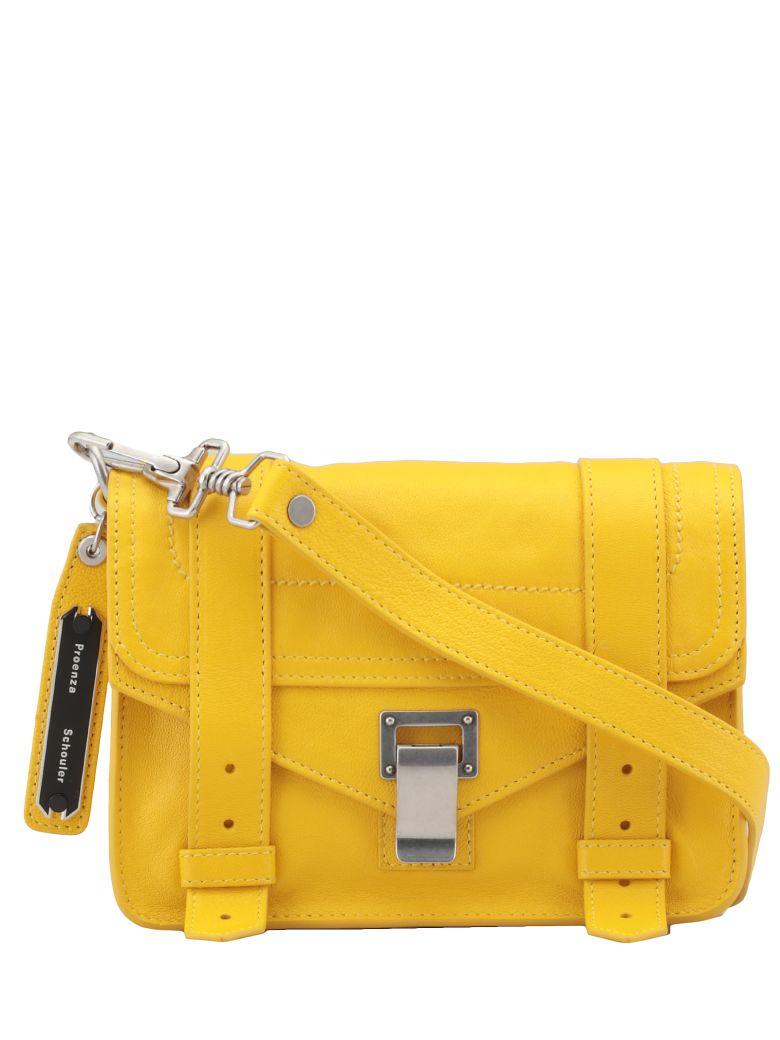 Proenza Schouler Ps1 Mini Crossbody Bag - Lemon Chrome