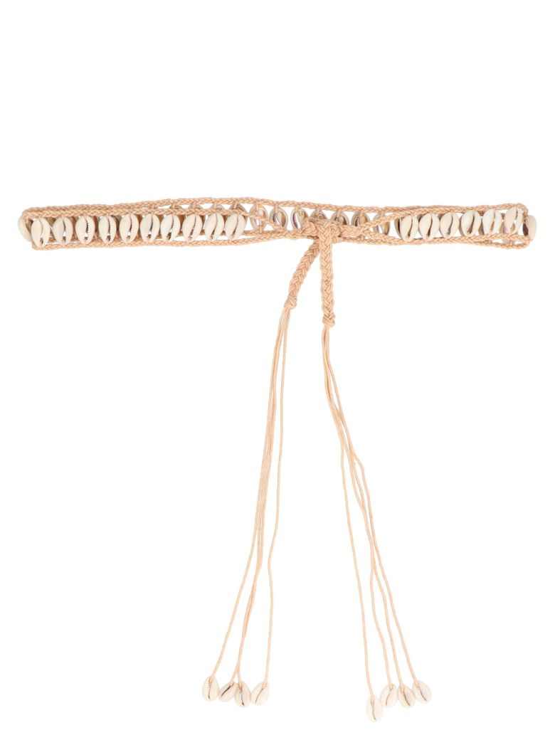 Alanui 'cowride Shell' Belt - Beige