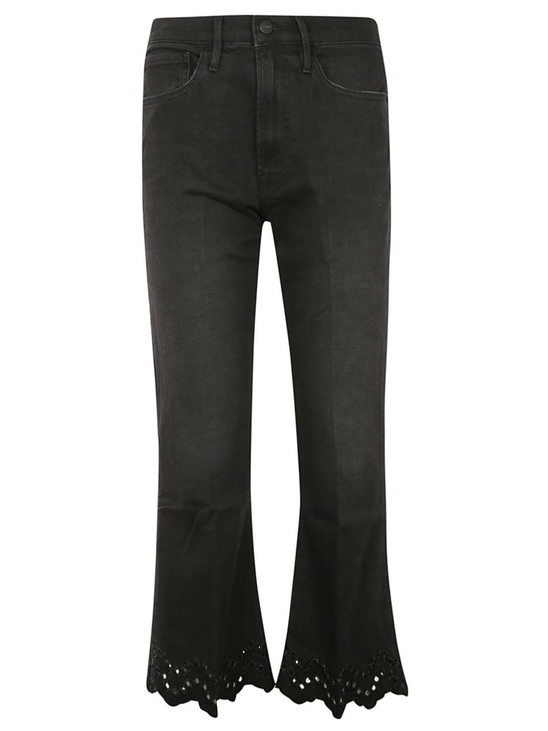 Frame Flared Cropped Jeans - Lacey