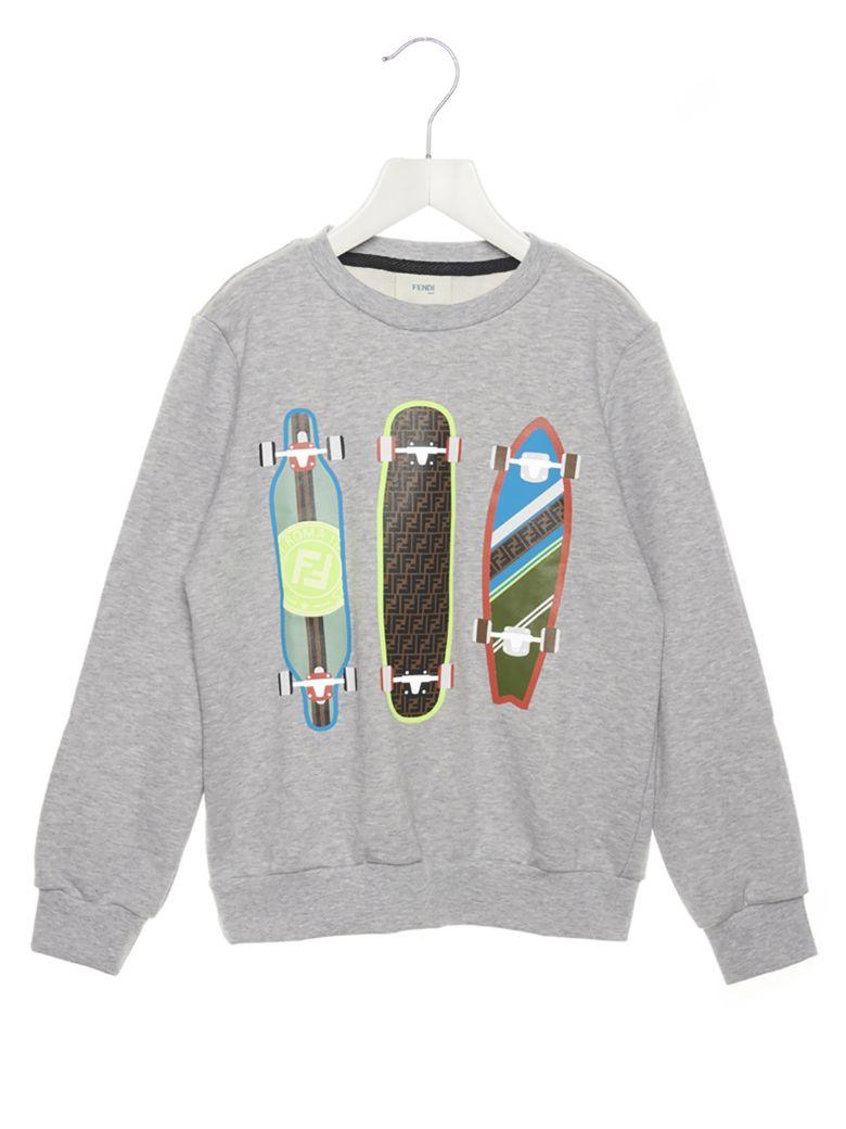 Fendi 'skate' Sweatshirt - Grey