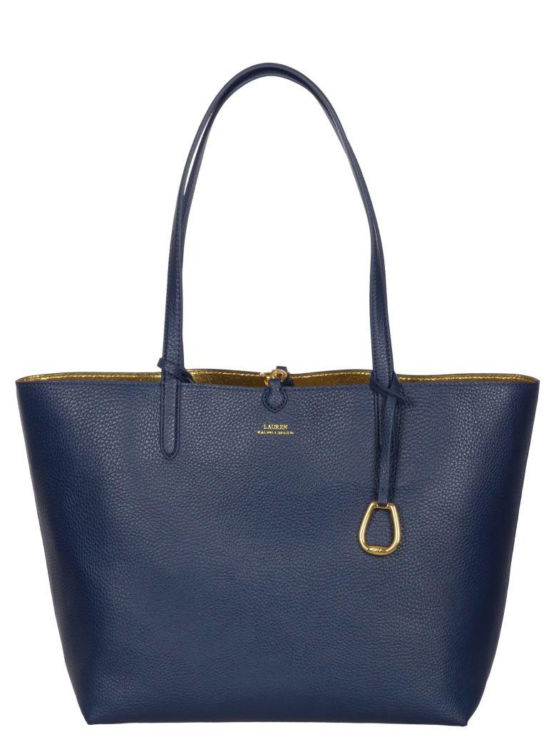 Ralph Lauren Reversible Tote Bag - Navy/gold