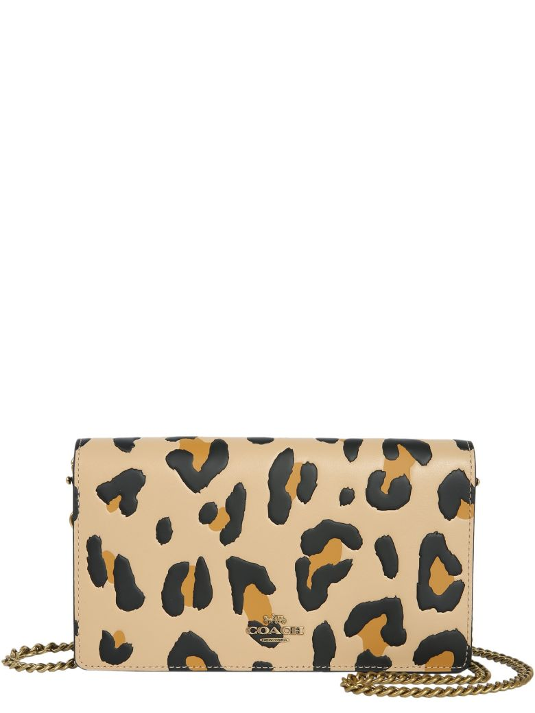 Coach Leopard Crossbody Bag - ANIMALIER