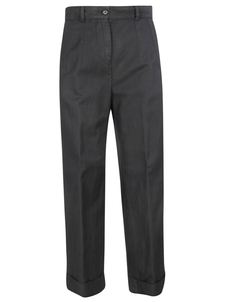 Aspesi High-waisted Trousers - Gray