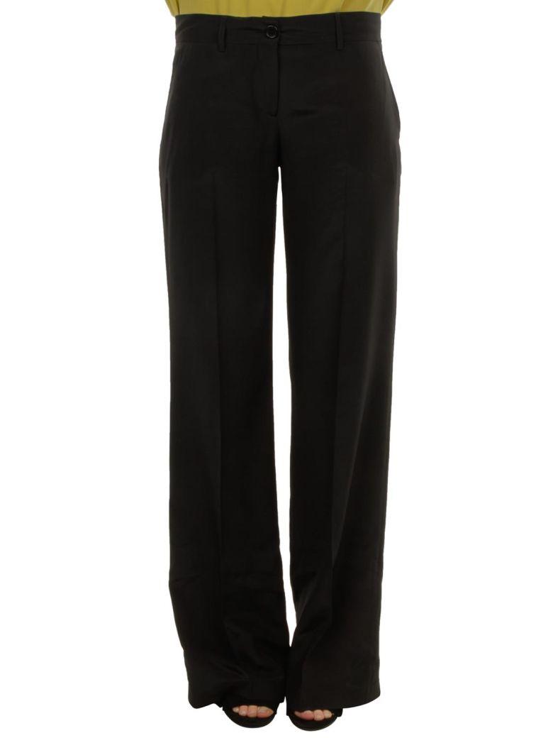 Aspesi Aspesi Silk Trousers - Black
