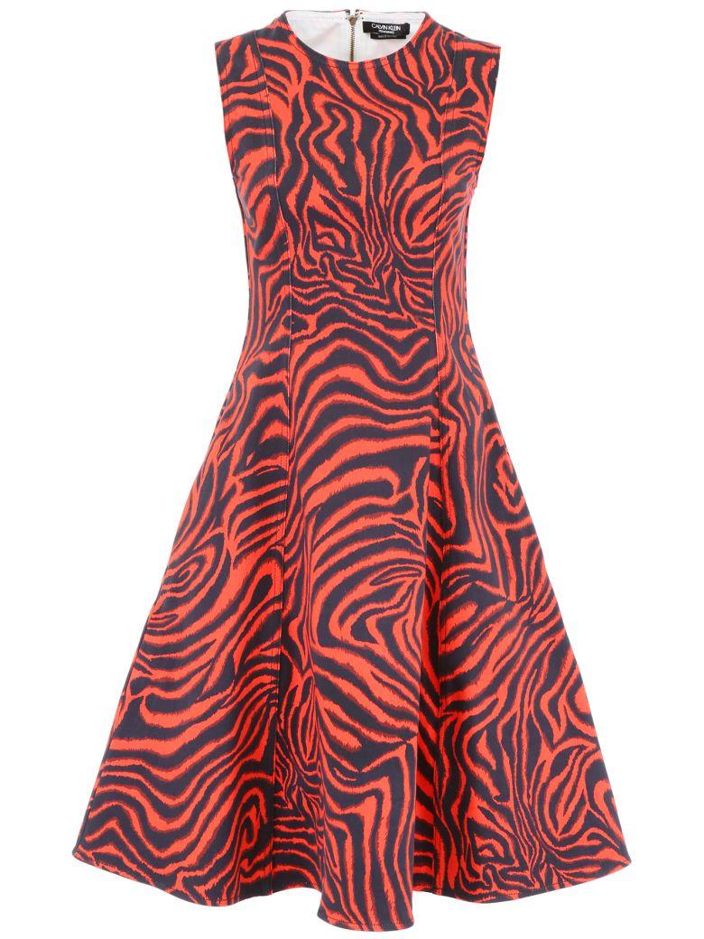 Calvin Klein Animalier Dress - RED (Pink)