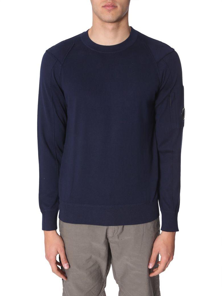 C.P. Company Crew Neck Sweater - BLU