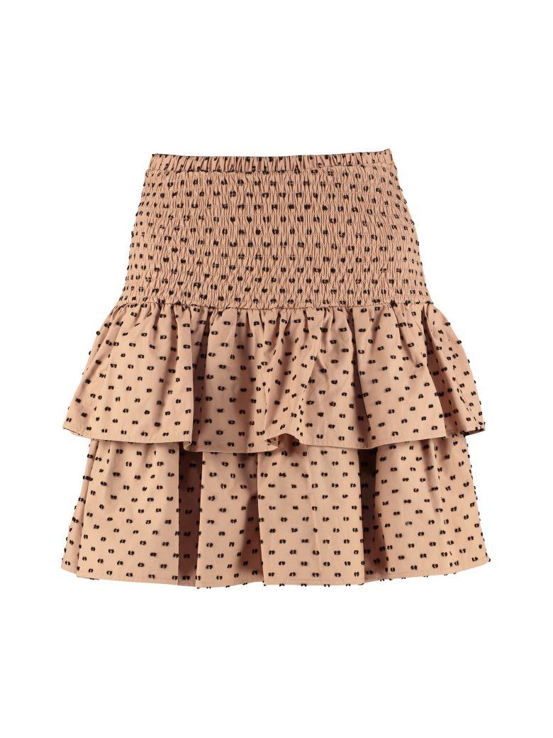Baum und Pferdgarten Saidah Cotton Frill Skirt - Camel