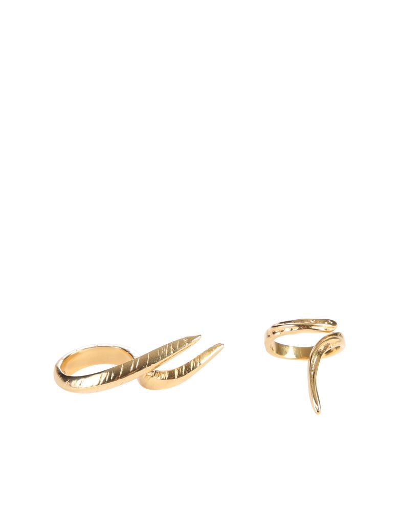 Givenchy Claw Rings - Metallic
