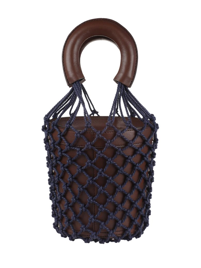 STAUD Netted Bucket Bag - Basic