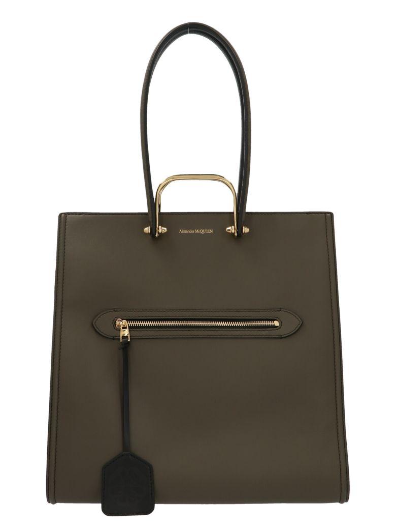 Alexander McQueen 'the Tall Story' Bag - Green