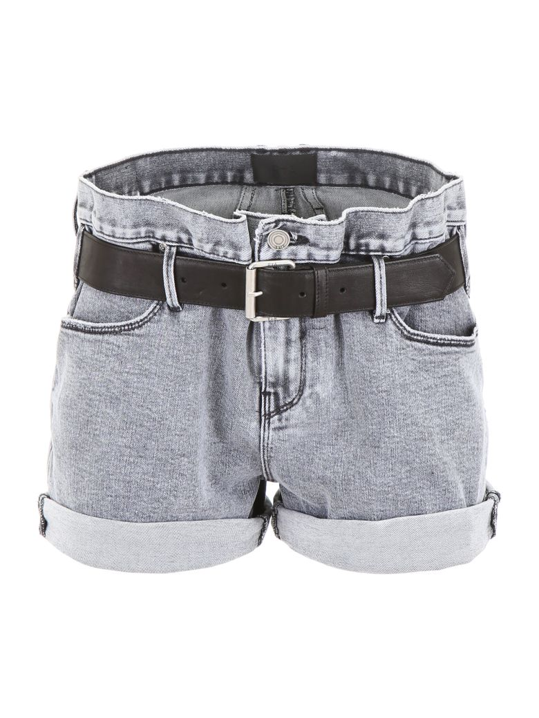 RTA Denim Shorts With Belt - Basic