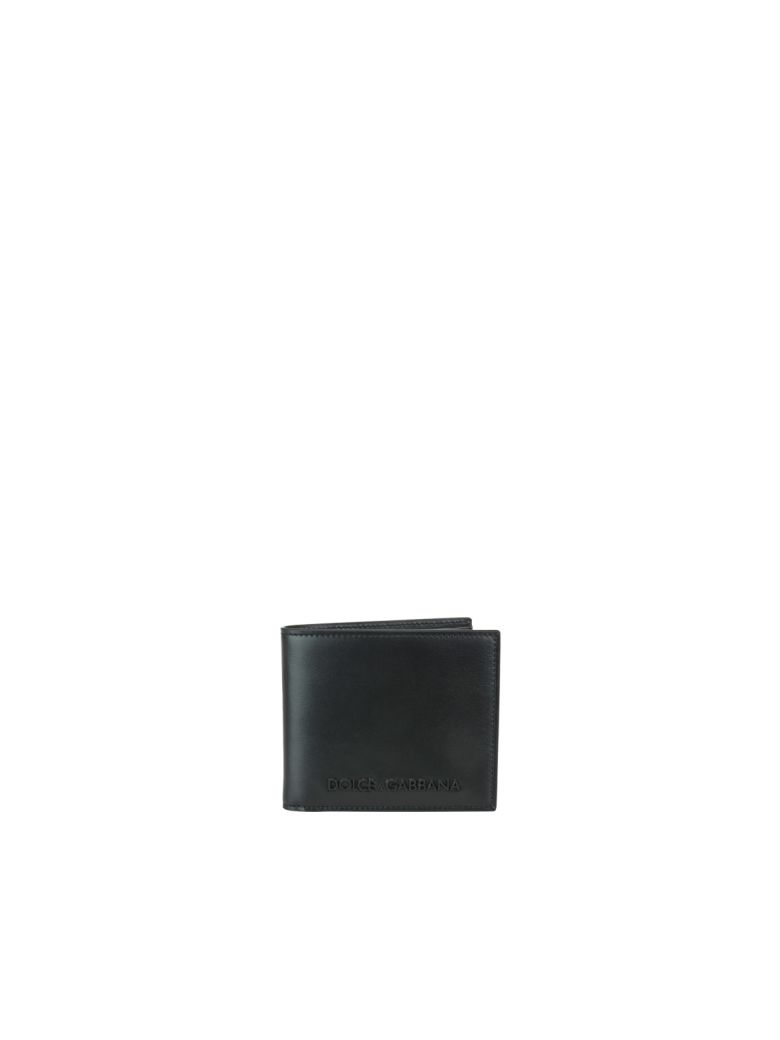 Dolce & Gabbana Logo Wallet - Black
