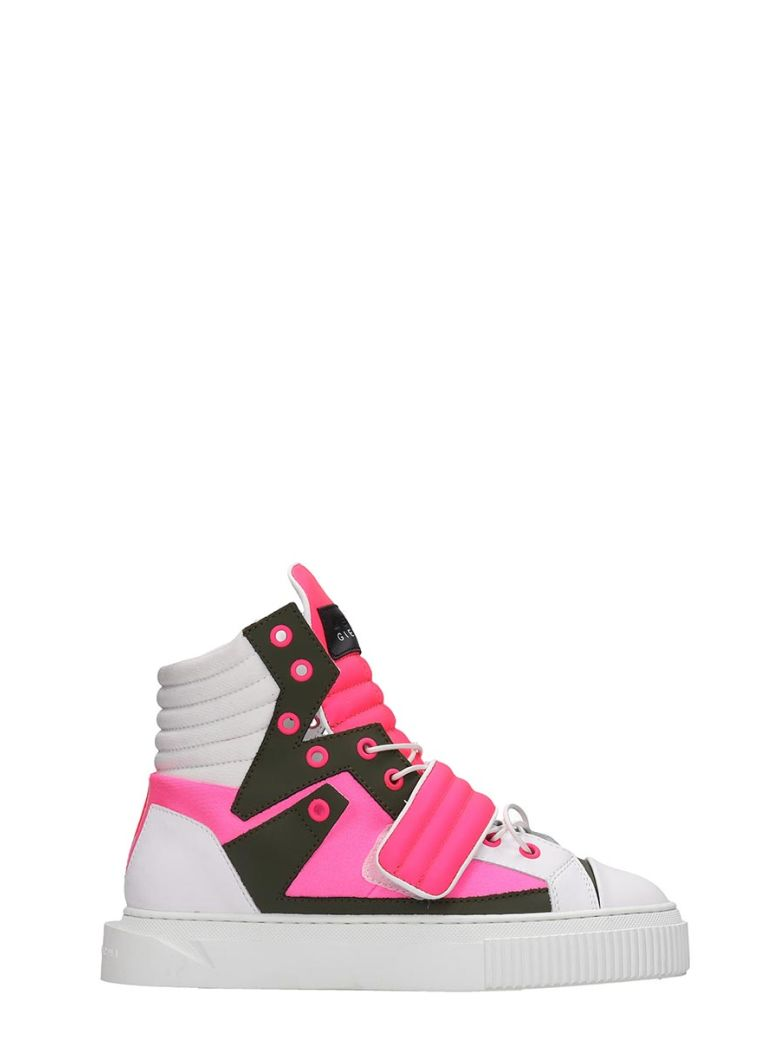 Gienchi Hypnos Sneakers In White Tech/synthetic - white