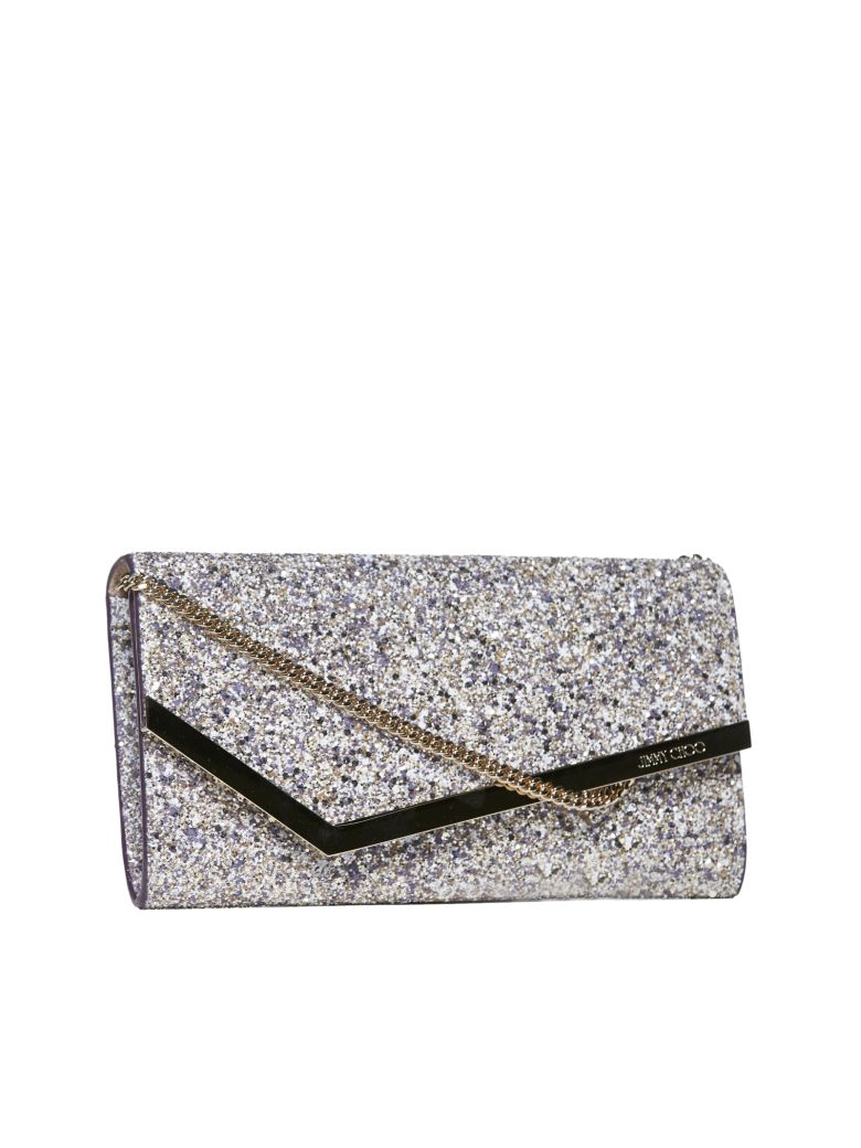 Jimmy Choo Clutch - Platinum mix