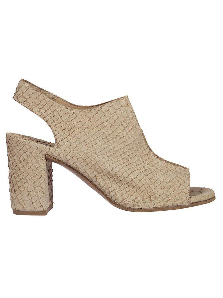 Roberto del Carlo Patterned Sandals - Beige