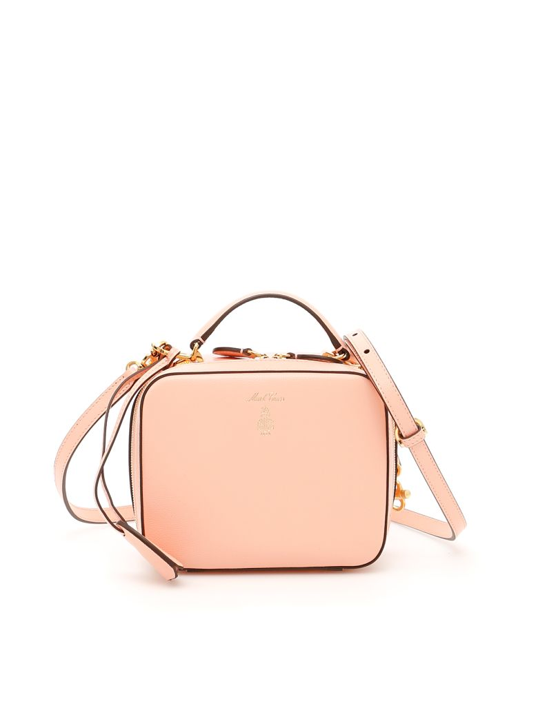 Mark Cross Baby Laura Caviar Bag - SALMON|Rosa
