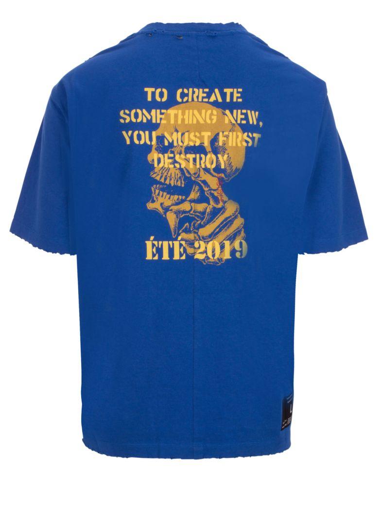 Ben Taverniti Unravel Project T-shirt - Blue