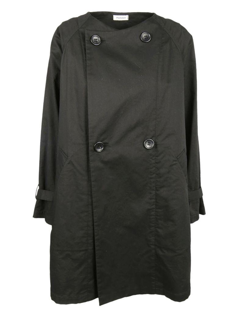 Plantation Double Breasted Jacket - Black