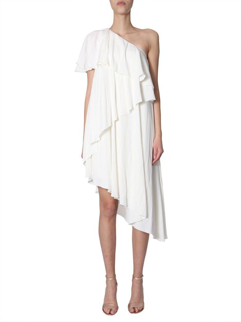 Lanvin Asymmetrical Dress - AVORIO