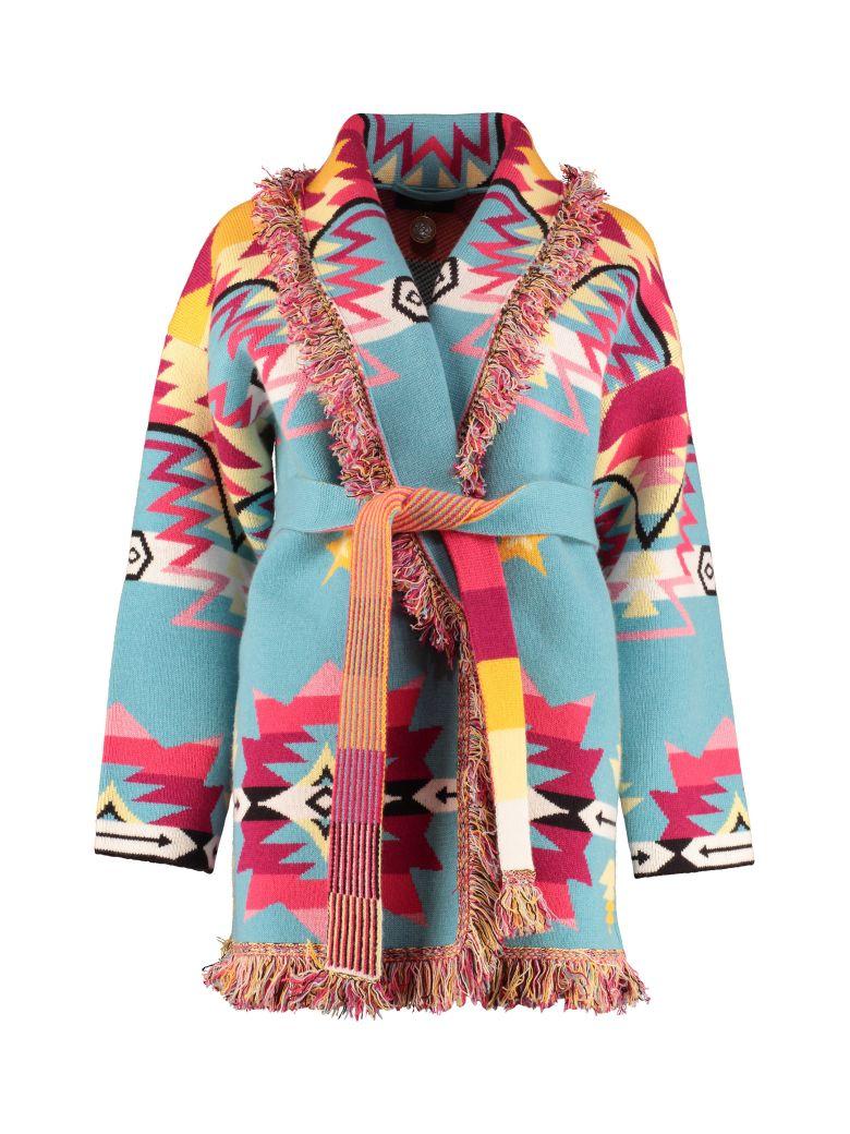 Alanui Fringed Cashmere Cardigan - Multicolor