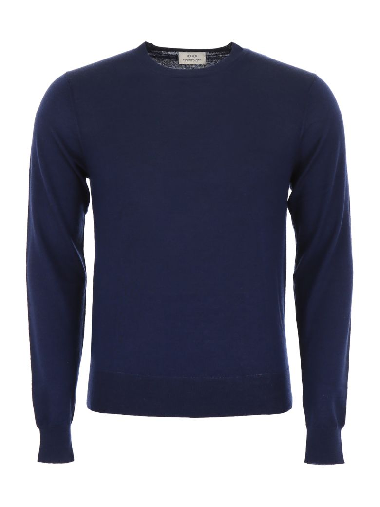 CC Collection Corneliani Cashmere Pullover - NAVY|Blu