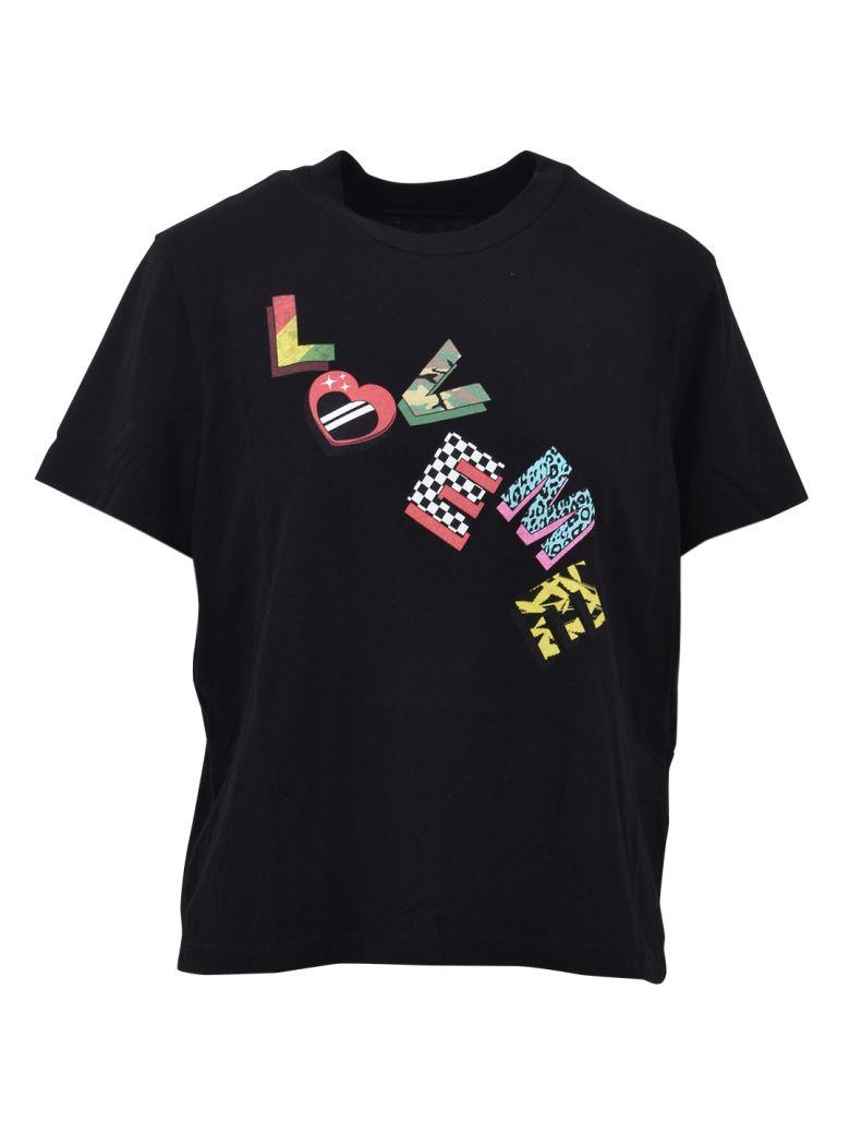 AMIRI Logoed T-shirt Black - Black