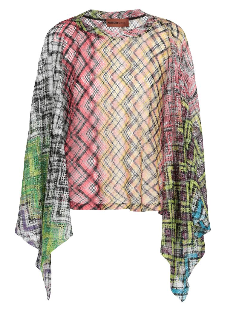 Missoni Multicolor Cape - Basic