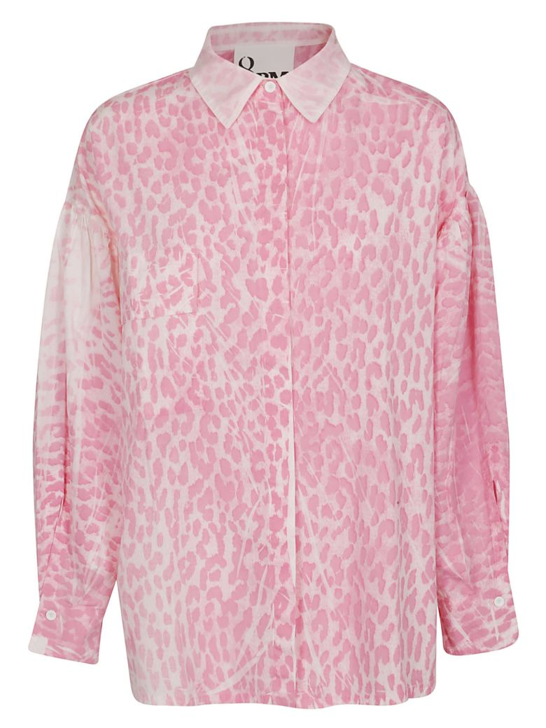 8PM Leopard Pattern Shirt - Pink