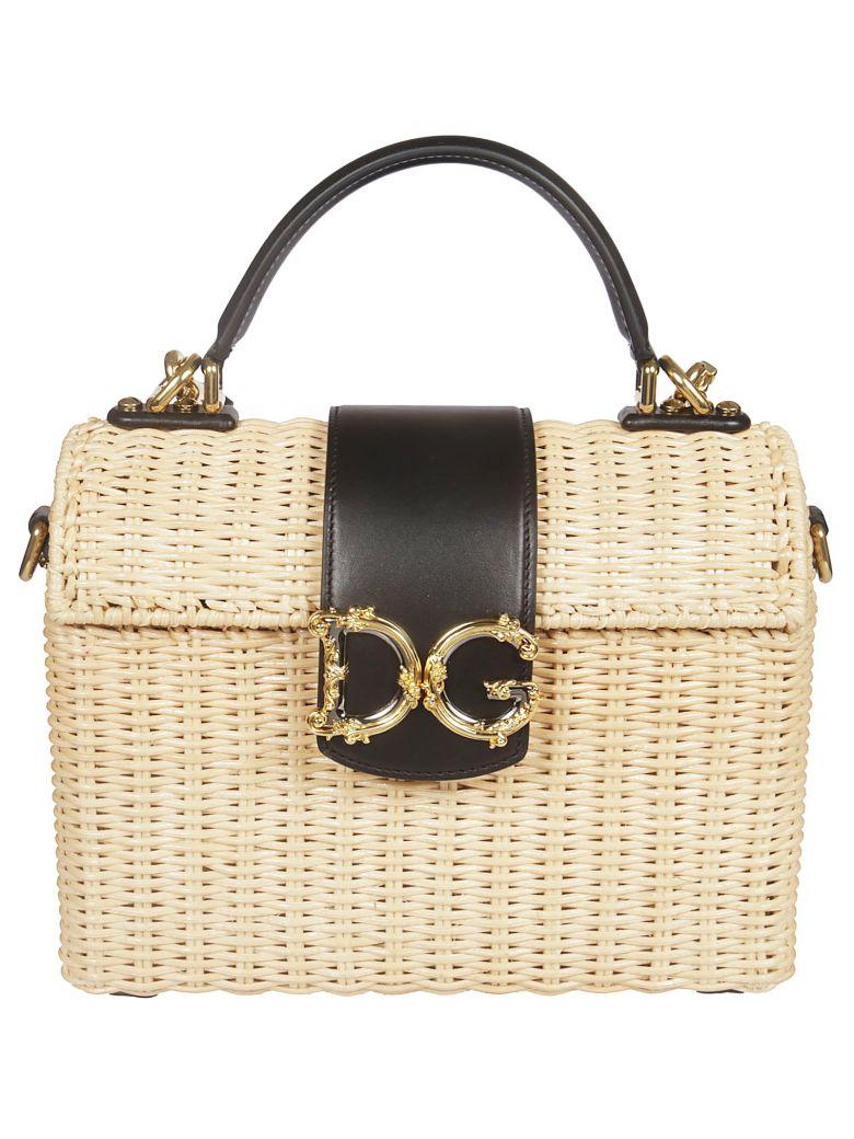 Dolce & Gabbana Medium Dg Girls Tote - White