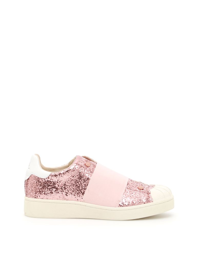 M.O.A. master of arts Glitter Sneakers - ROSA|Rosa