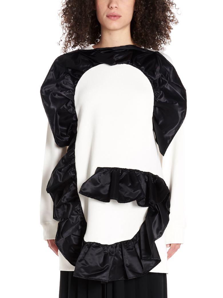 MM6 Maison Margiela 'g' Sweatshirt - Black&White