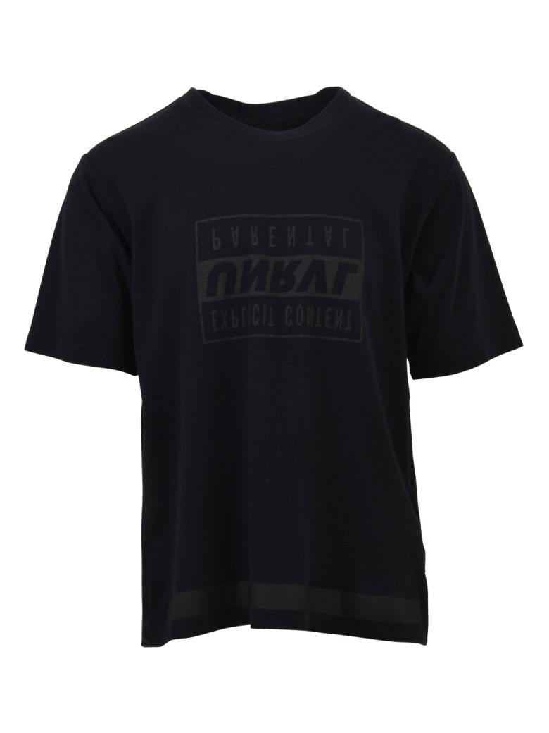 Ben Taverniti Unravel Project Black Explicit T-shirt - Black