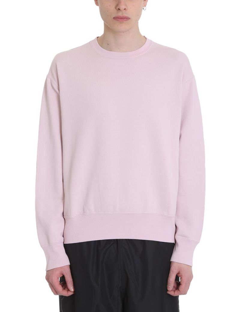 Our Legacy Patch Pink Cotton Sweatshirt - Basic