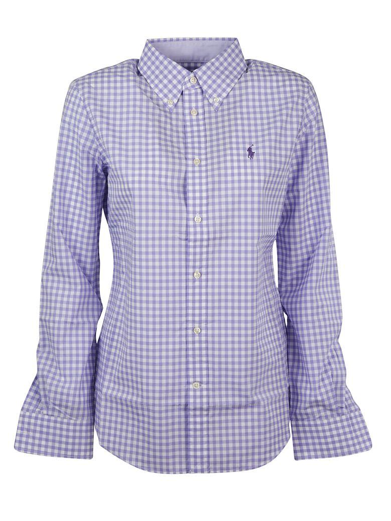 Ralph Lauren Gingham Check Shirt - Purple Mu