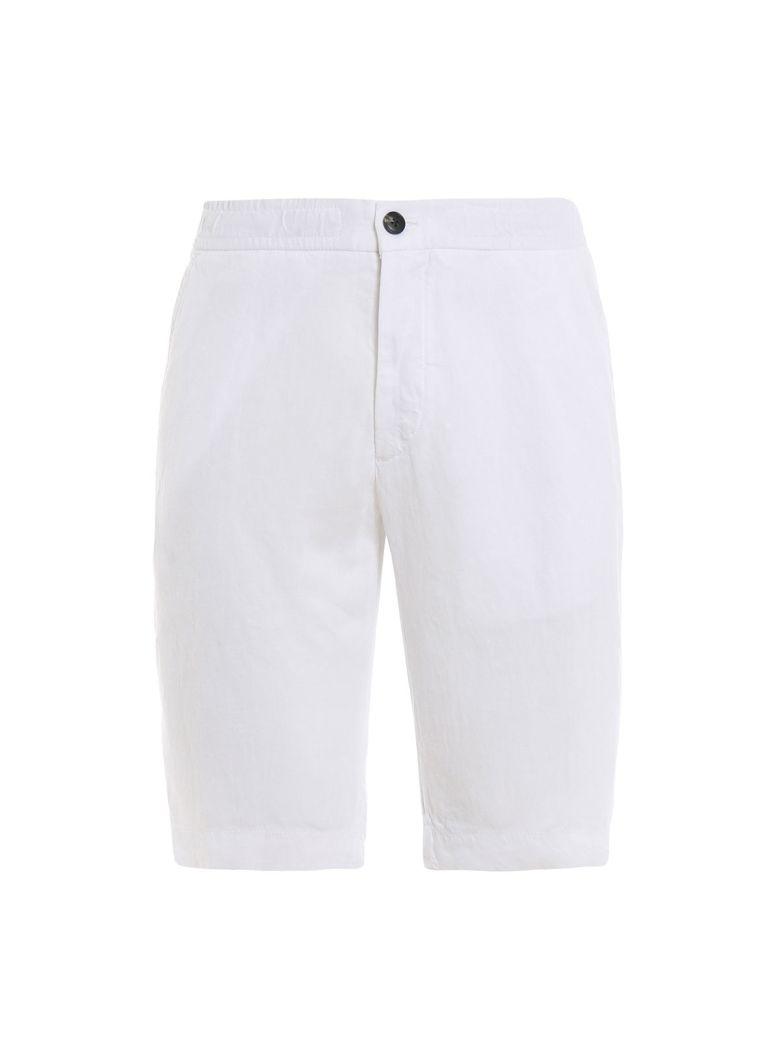 Z Zegna Plain Deck Shorts - White