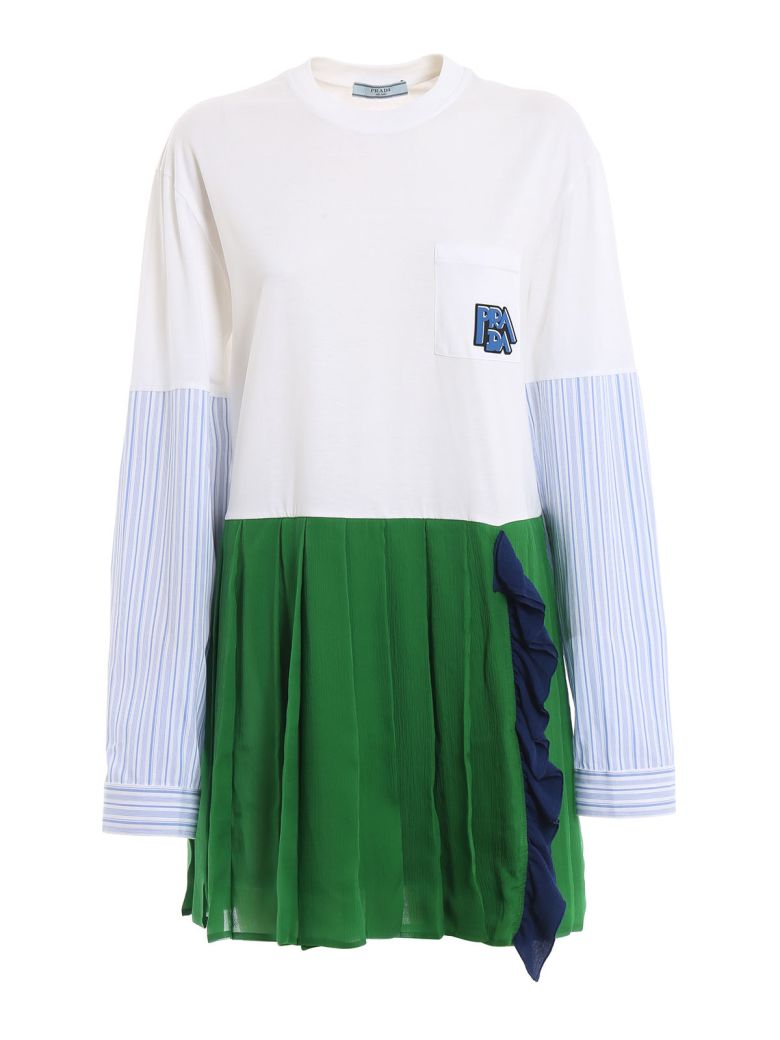 Prada Pleated Dress - Basic