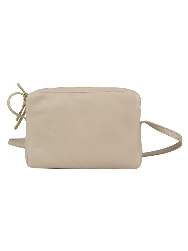 Mansur Gavriel Double Zipped Shoulder Bag - Creme