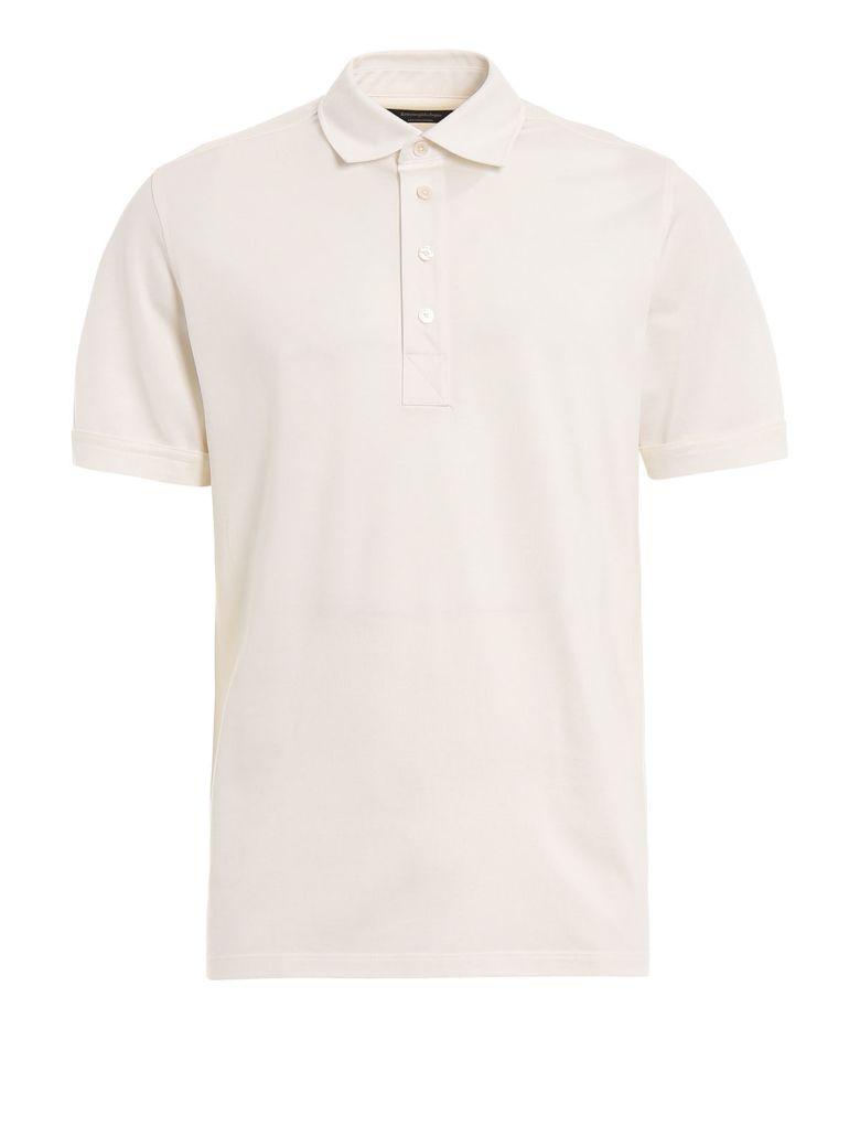 Ermenegildo Zegna Slim Fit Polo Shirt - White