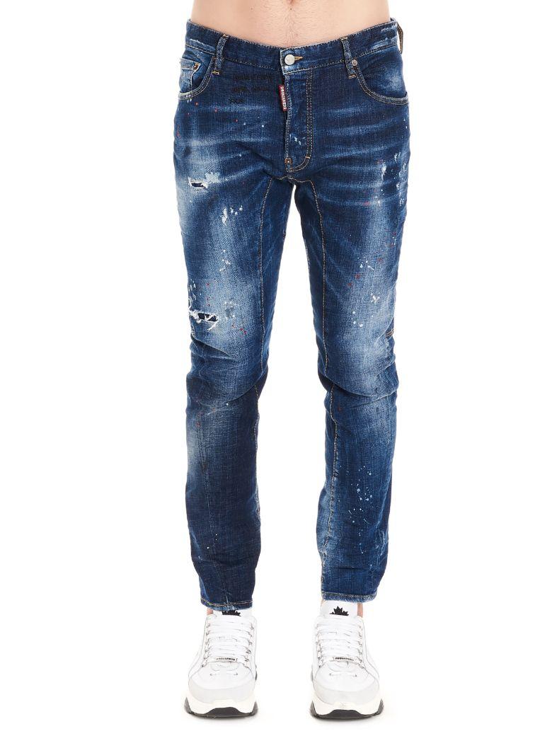 Dsquared2 'tidy Biker' Jeans - Blue
