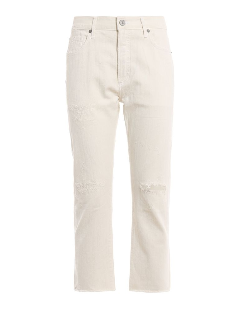 Citizens of Humanity Corey Crop Slim Jeans - Greco Natural
