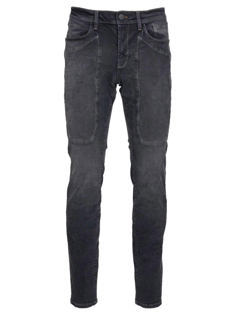Jeckerson Black Sanded Jeans - Black-sanded