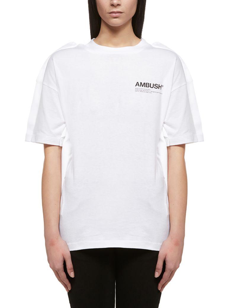 AMBUSH Logo Print T-shirt - Bianco nero