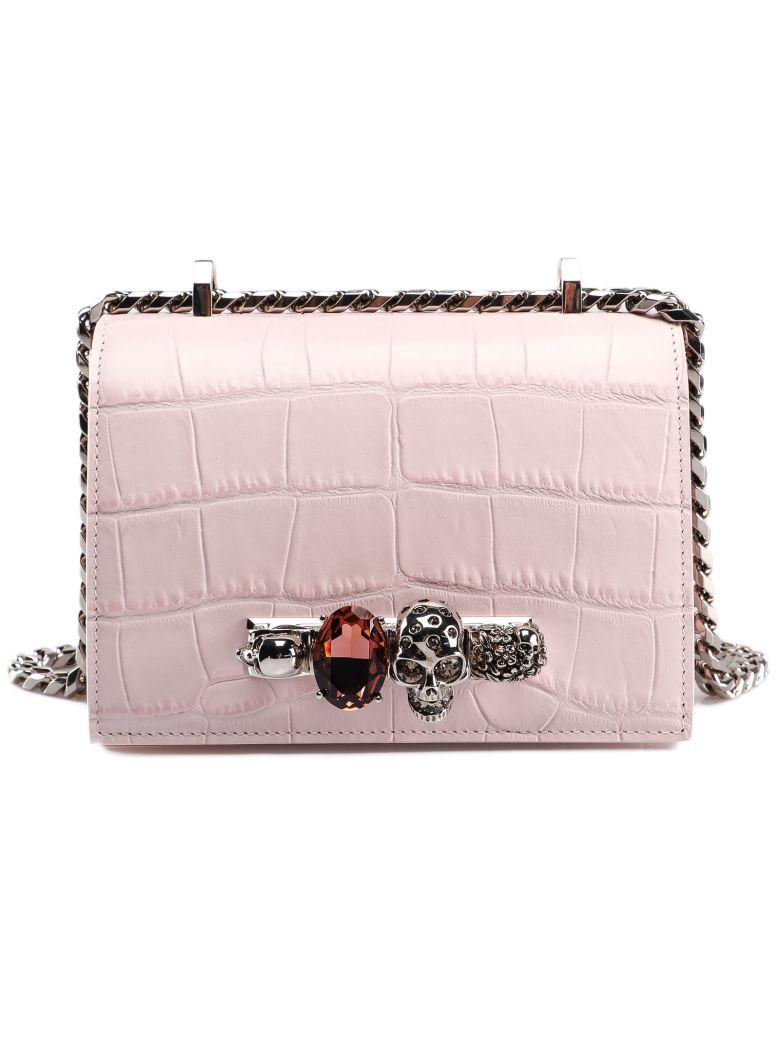 Alexander McQueen Jeweled Shoulder Bag - Basic