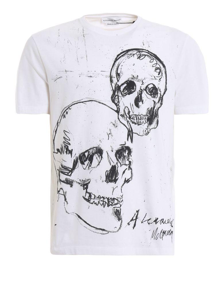 Alexander McQueen Skulls T-shirt - Basic