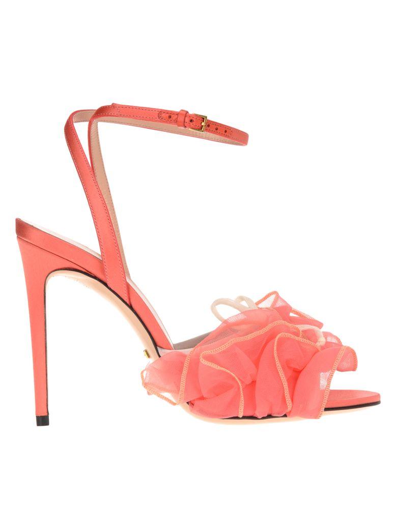 Gucci Gucci Tulle Sandals - PEACH