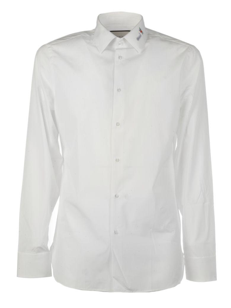 Gucci Flower Fil Coupé Shirt - White