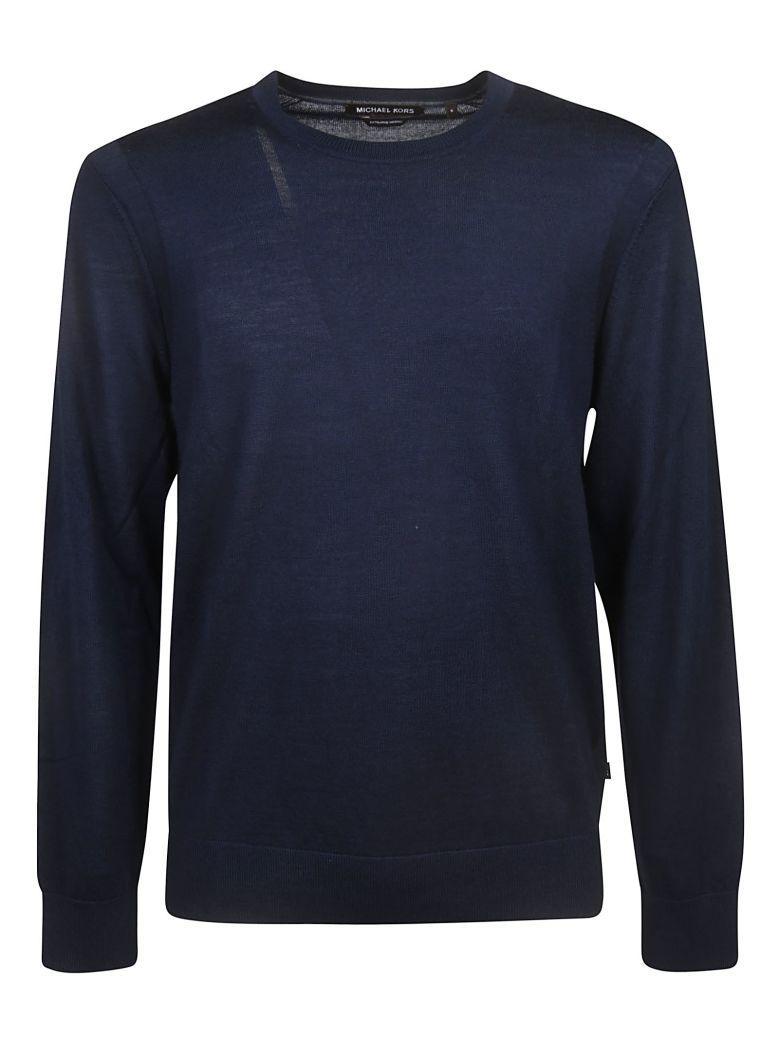 Michael Kors Round Neck Sweater - Blue