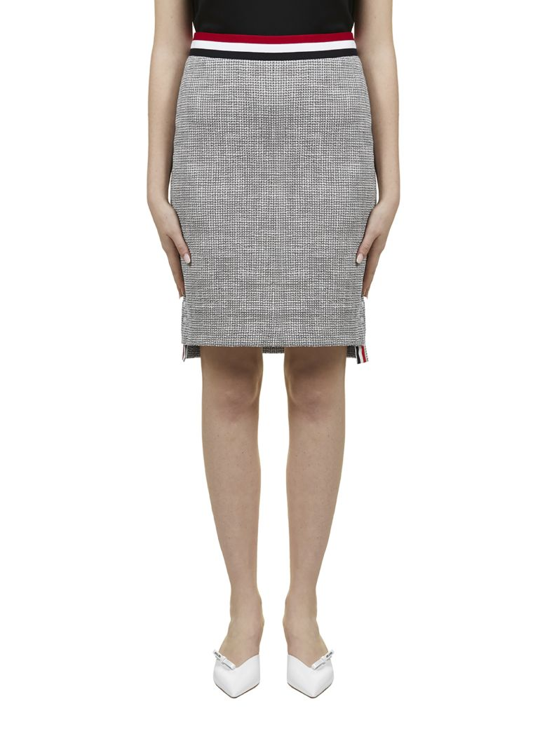 Thom Browne Tweed Pencil Skirt - Basic